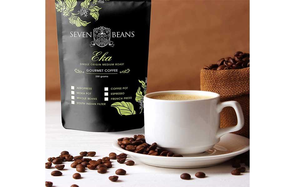 قهوه ۷ دانهی Eka Gourmet