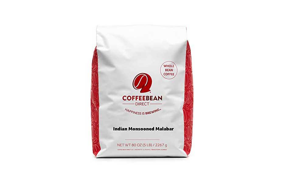 قهوه هندی موسمی مالابار Coffee Bean Direct - ارسال عمده دانه قهوه هند