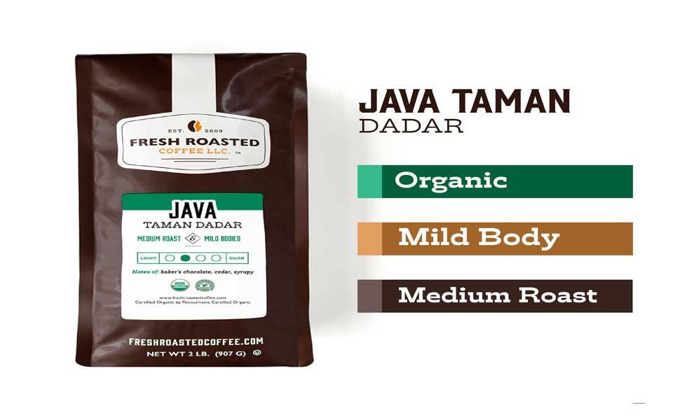 جاوه تمان دادار اندونزی قهوه - قهوه اندونزی