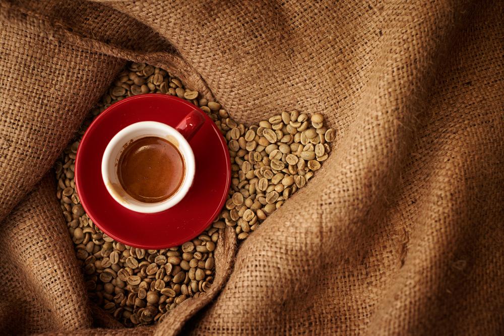بازار فروش دانه قهوه