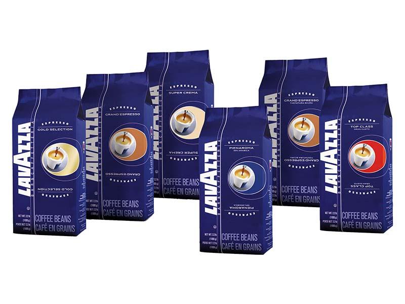 نمایندگی قهوه لاوازا: انواع قهوه لاوازا