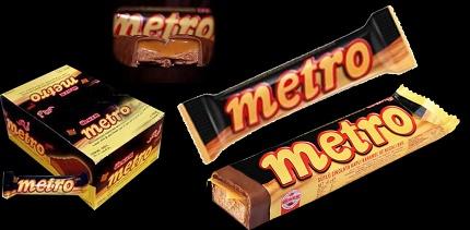 شکلات مترو عمده