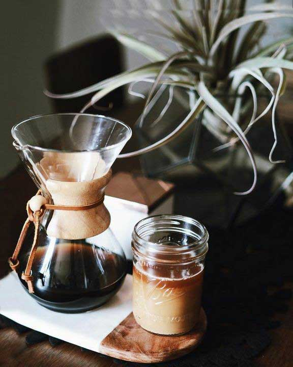 مشخصات قهوه ساز کمکس chemex - خرید قهوه ساز