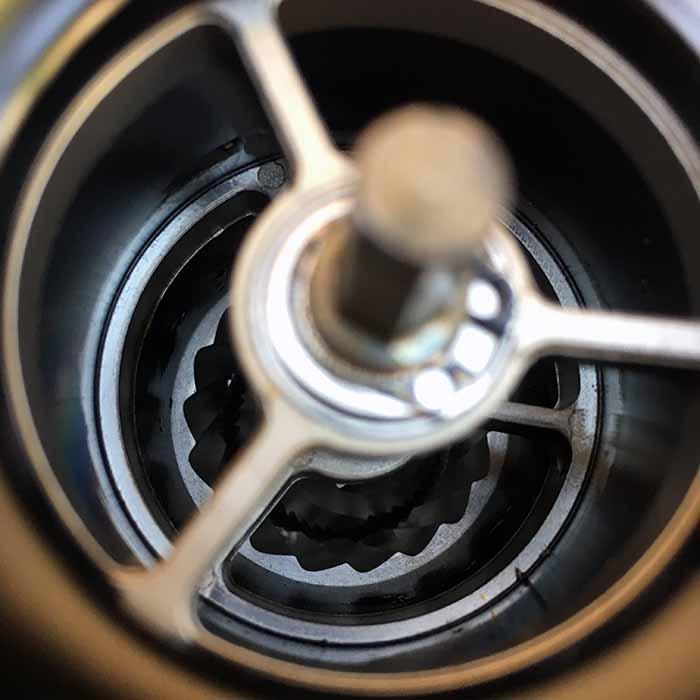 آسیاب دستی قهوه استیل