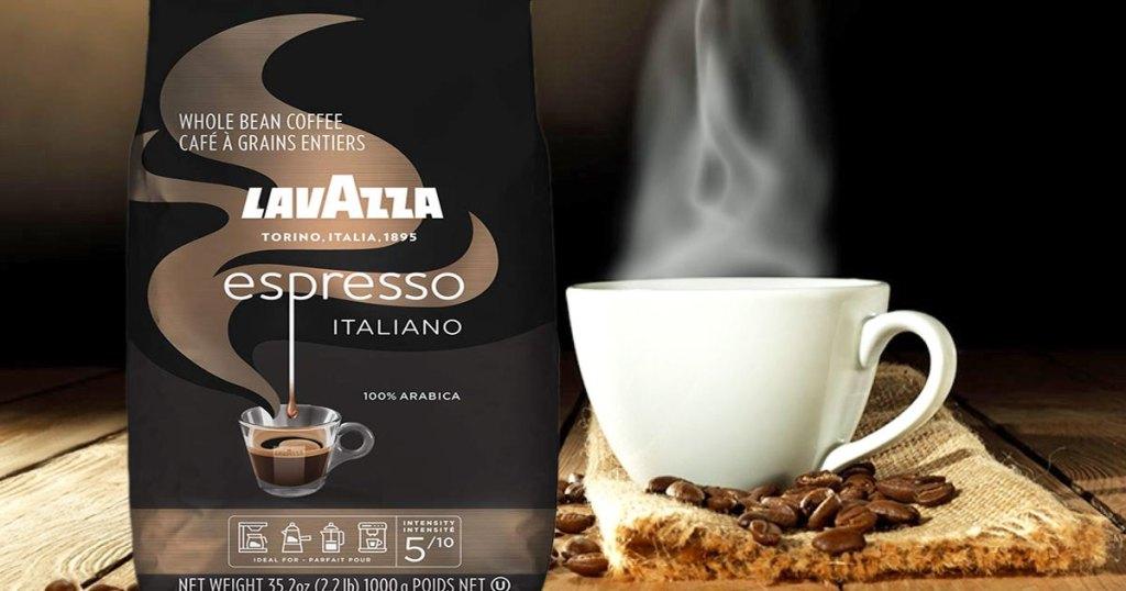 قهوه فوری لاواتزا
